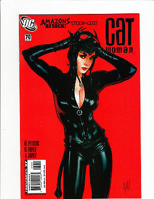 Catwoman 70 Amazing Sexy Iconic Red Adam Hughes Cover Super Hot Cat Woman Dc Htf