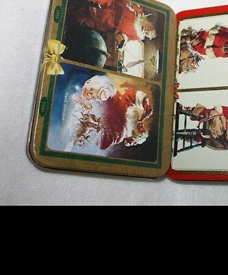 Coca Cola Coke Holiday Christmas Santa Playing Cards Set of 2 with 2 Decks Each