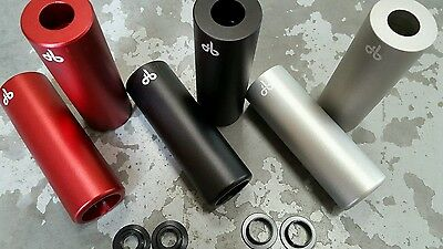 DiamondBack SUPER LIGHT BMX Stunt Pegs (CNC BILLET ALLOY) Trick Nuts (PAIR)