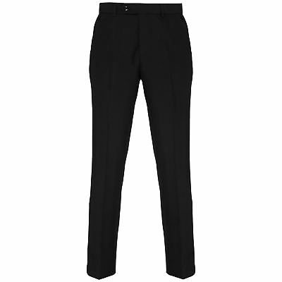 Premier-Business & Formal Trousers-Mens Tailored fit polyester trousers