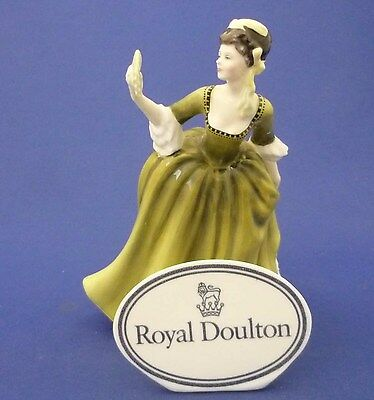 """SIMONE"" Royal Doulton England Bone China Pretty Lady Doll Figurine HN 2378"