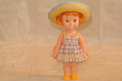 Red Haired Vintage Playmate Doll