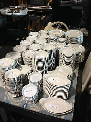 "650 Restaurant Plates Dishes All Sizes  ""MAKE AN OFFER"""