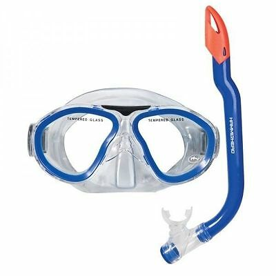 Hammerhead Explorer Mask & Snorkel Set-Blue
