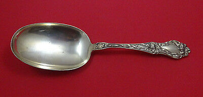 Lily by Frank Whiting Sterling Silver Salad Serving Spoon 9""