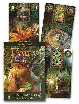 Fairy Lenormand Oracle by Marcus Katz (English) Free Shipping!