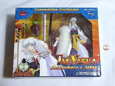 NEW InuYasha Sesshomaru & Jaken Convention Exclusive Toy Figure Set SEALED