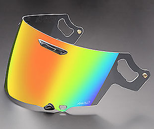 Genuine Arai VAS-V RX-7V Visor Coated Red Iridium Shield Track Race Motorcycle