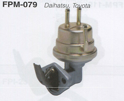 Toyota Hi-Lux YN57R : YN58R 11/83-9/88 Mechanical Fuel Pump (FPM079-12)