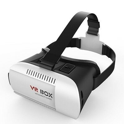 VR BOX 3D Video Glasses - For 4.7 To 6 Inch IOS and Android Smartphone, Adjustab