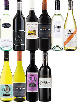 Amazing Value 10 Mixed Wines + 2 Free Sparkling • AUD 89.00