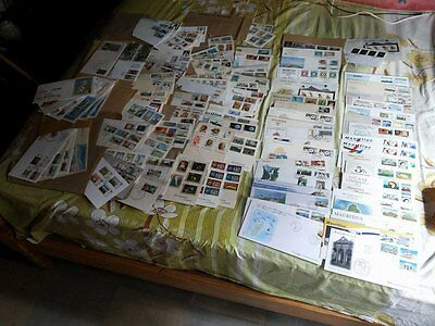 Lot Of 114 First  Day Covers Mauritius / Enveloppe Du 1 Er Jour Ile Maurice