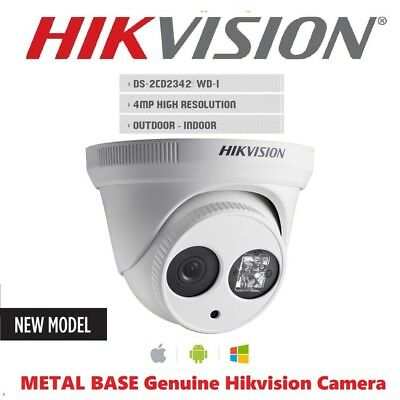 HIKVISION DS-2CD2342WD-I Camera 4MP 4mm POE Upgradable Firmware 3yr Warranty