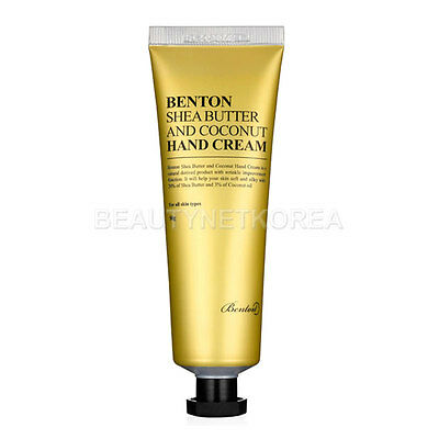 [Benton] Shea Butter And Coconut Hand Cream 50g / Coconut fragrance
