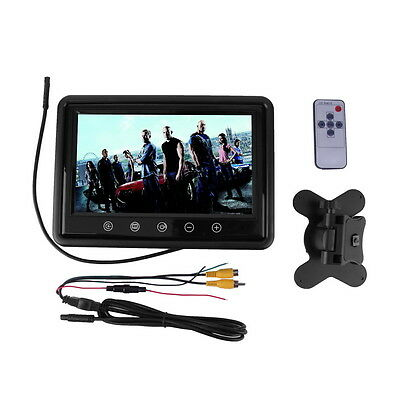 9 Inch HD Touchscreen Car Reverse LCD AV TFT LED Monitor Color Camera ZY