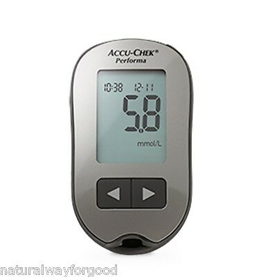 Glucose Meter Monitor New Accu-Chek Performa + 10 Test Strips Infrared by Roche