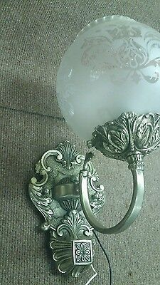 Vintage Unique Globe ORNATE LOOKING HOUSE LIGHT