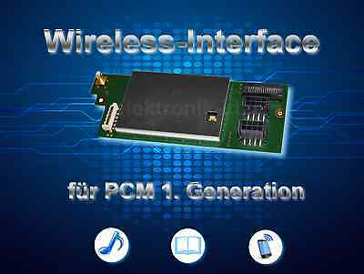 Porsche PCM 1997-2002 Wireless hands free & Musik Streaming Module for 996 986