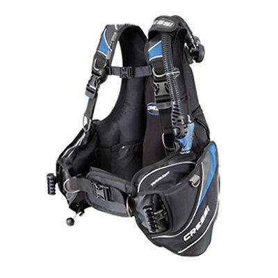 Cressi Travelight BCD Blu Scuba Diving Integrated Weight Pockets Travel 02UK