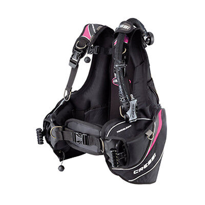 Cressi Travelight BCD Pink Scuba Diving Integrated Weight Pockets Travel 04US
