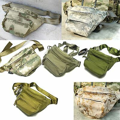 Airsoft Hunting Paintball TMC Cordura low pitched waist pack Multi-color