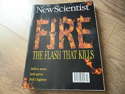 NEW SCIENTIST MAGAZINE*No. 1980 JUNE 3 1995 *ENGLISH*WEEKLY*SCIENCE*FIRE