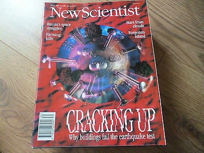 NEW SCIENTIST MAGAZINE*No. 1988 JULY 29 1995 *ENGLISH*WEEKLY*SCIENCE*CRACKING UP