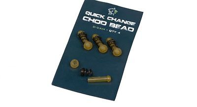 Nash Quick Change Chod Bead Pack of 4 Brand New