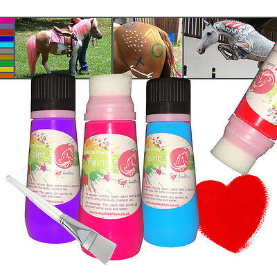 Horse & Pony Paint by Equifashion - Safe for equine (Equidivine Sabella) 130ml