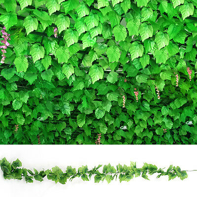 82ft Artificial grape Ivy vine faux Leaf Garland Plants Fake Foliage Décor