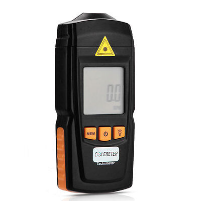 GM8905 Non-Contact Handheld LCD Digital Laser Tachometer RPM Tach Tester Meter