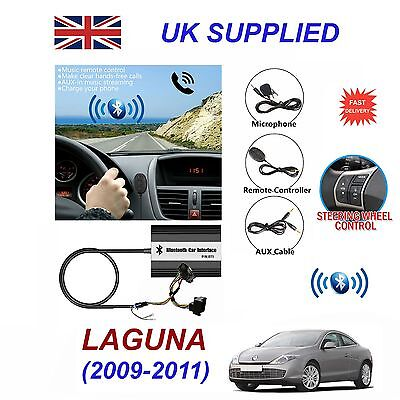 Renault Laguna Bluetooth Hands Free Phone AUX Input MP3 USB 1.0A Charger Module