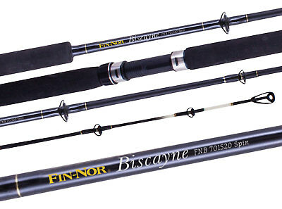 Fin Nor Biscayne Fishing Boat Rods