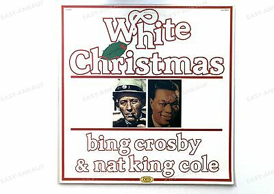 Bing Crosby & Nat King Cole - White Christmas ITA LP 1981 //3