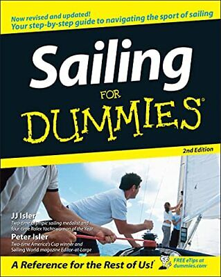 Sailing For Dummies by Isler, Peter Paperback Book The Cheap Fast Free Post