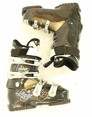 Used Lange Exclusive Delight 70 Black Ski Boots Women's Size