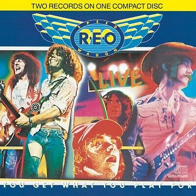 REO Speedwagon - Live: You Get What You Play for [New CD]