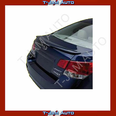 Subaru Liberty 2010-2014 REAR BOOT SPOILER Unpainted NEW
