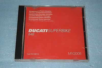 documentation technique CD Ducati Superbike 848 de 2008