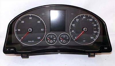 SPEEDO CLOCKS MK5 2004-2008 VW Golf Match 1.9 Diesel Instrument Clocks - 5073336