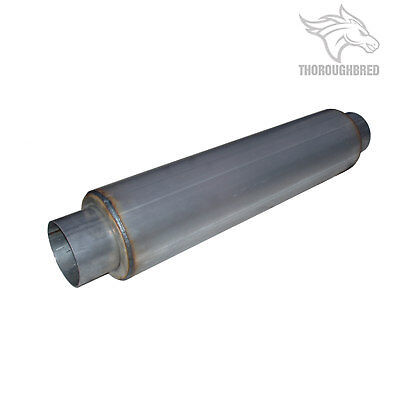 MBRP Exhaust Muffler 4 Inch Center Inlet and 4 Inch Center Outlet; M2029
