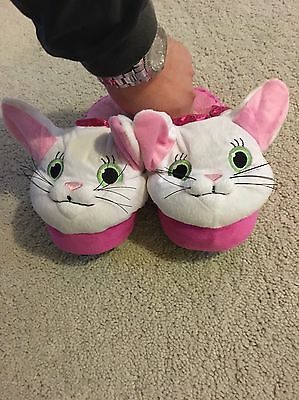 Kitty Stompeez Kids Slippers Fun Safe Soft Comfy Walk Stomp Jump Child Gift
