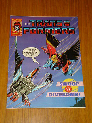 Transformers British Weekly #135 Marvel Uk Comic 1987