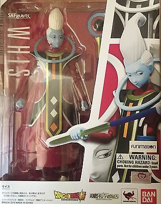 Bandai S.H. Figuarts Dragonball Z Super Whis IN STOCK USA AUTHENTIC ITEM
