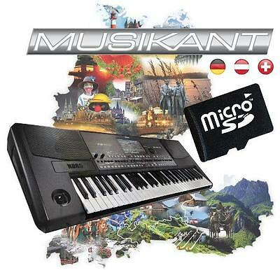 Korg PA-600 Musikant-Erweiterung incl. 150 PA600-Styles, 400 Songbook-Einträge