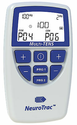 NeuroTrac Multi Tens Powerful TENS Machine & Muscle Toner made in the UK