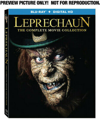 Leprechaun: The Complete Movie Collection - 4 DISC SET (2014, Blu-ray NEW)