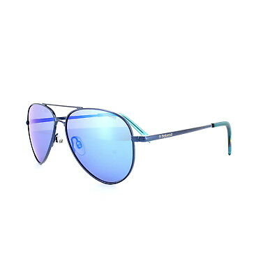 Polaroid Kids Sunglasses PLD8015N R0P JY Gold Blue Polarized