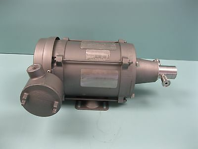 Tuthill Sanitary SS Pump Reliance Electric 1/3 HP 230/460V Motor B5 (2053)