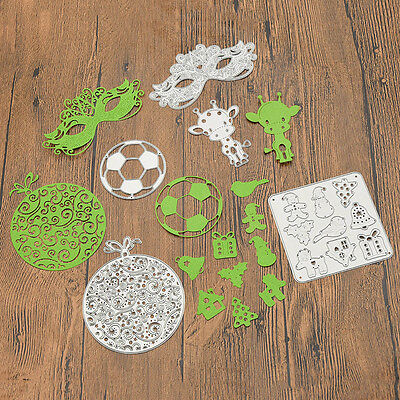 Various Metal Cutting Dies Stencil DIY Scrapbook Embossing Card Craft Gift